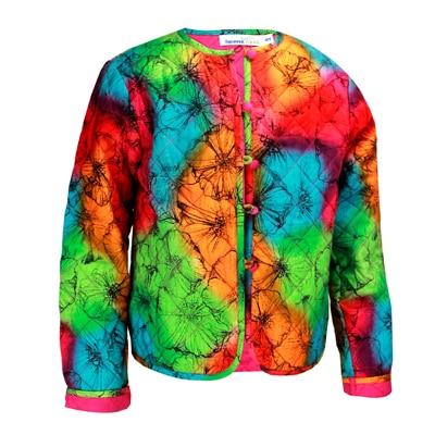 Shoppertree Tie Dye Printed Jacket