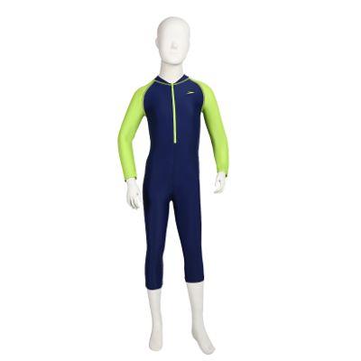Speedo Tots Swimwear Color Block All-in-1 Suit