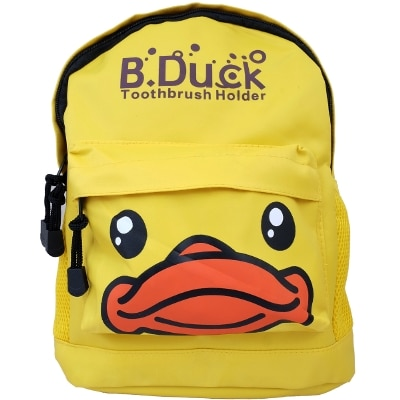Super Drool Yellow Cartoon Love Kids Play School Backpack (3 Litres)