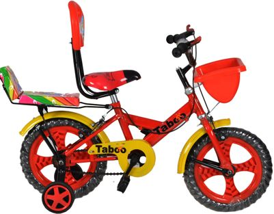 Taboo Double Seat Red Kid Cycle - 14T