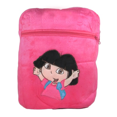 Tickles Pink Cute Bag Stuffed Soft Plush Toy 34 Cm