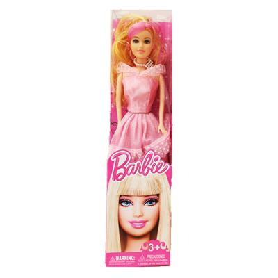 Tickles Pink Beautiful Pink Doll Toy For Girl 28 cm