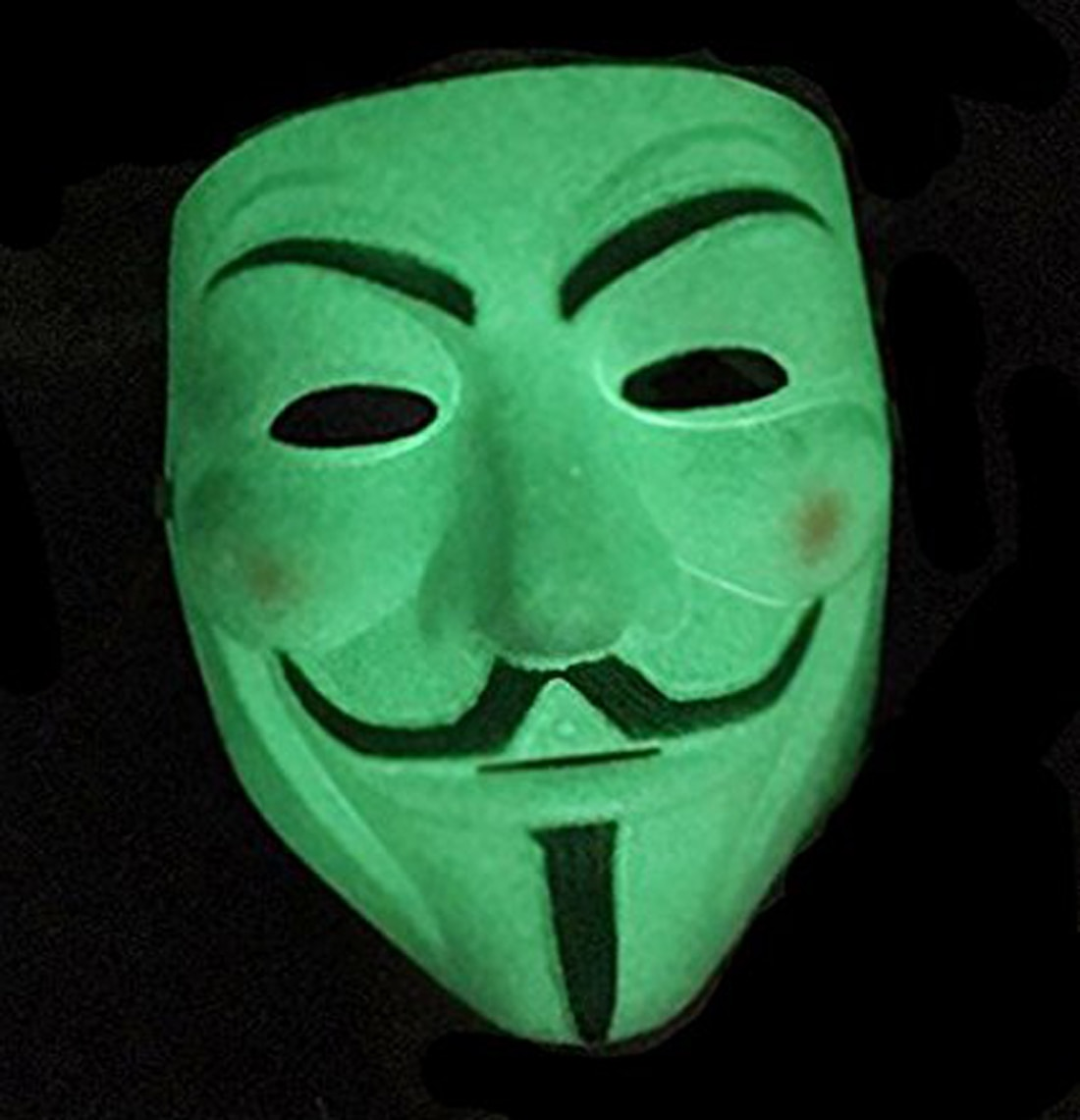 Vendetta Comic Face Mask Anonymous Mask Radium Mask Glow in the Dark 1Pc