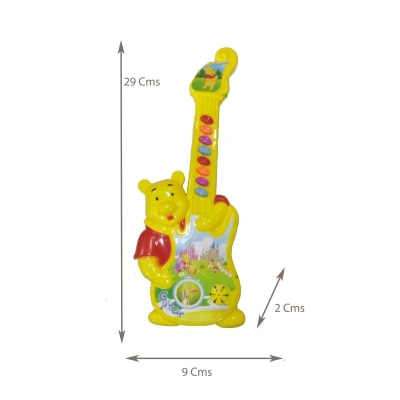 Toysforkids WINNIE THE POOH MUSICAL MINI GUITAR (ASSORTED)