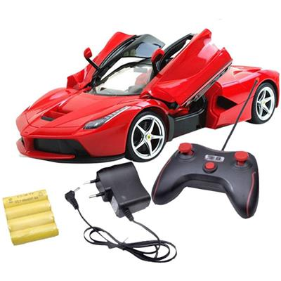 Zest4toyz Remote Controlled Ferrari like Model Sports Car With Opening...