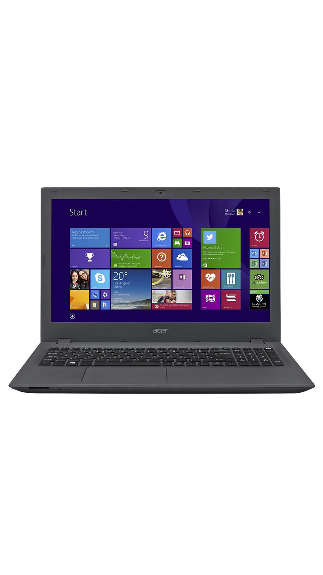 Acer Aspire ( E5-573 ) Notebook (Core i3 (4th Generation)/4 GB/500 GB/39.62 cm (15.6)/Linux) (Charcoal Grey)