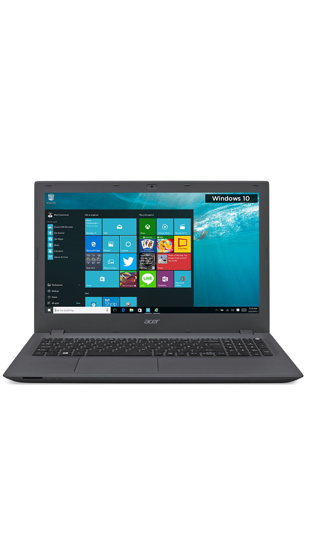 Acer F5-571-33M2 (UN.G9ZSI.001) (Core i3 (5th Gen)/4 GB/1 TB/15.6/Windows 10 Home) (Charcoal Black)