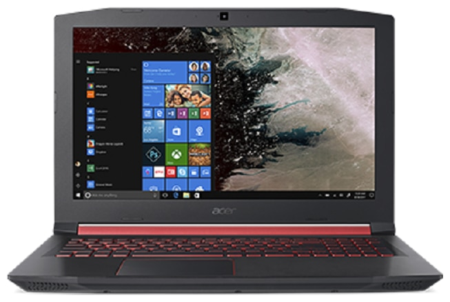 "Acer Nitro 5 (Core i5 - 8th Gen / 8 GB + 16 GB Optane / 1 TB / 15.6"" FHD / Windows 10 / NVIDIA 4 GB 1050Ti Graphics) Nitro 5 AN515-52-54GU (NH.Q49SI.001) (Black, 2.7 kg)"