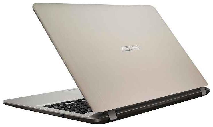 Asus Vivobook X507 (Core i3-7th Gen /4 GB/1 TB/39.62 cm (15 Inch) FHD /Windows 10) UA-EJ313 T Thin & Light Laptop (Gold, 1.68 Kg)