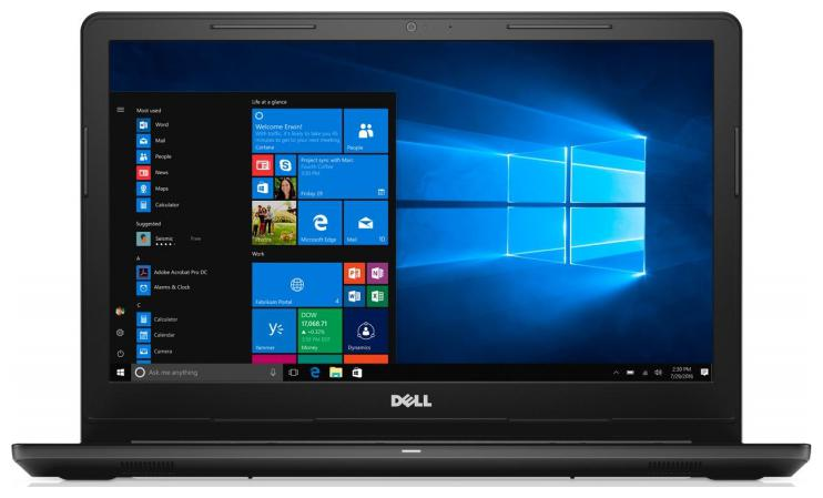 Dell Inspiron 3000 (Core i5 - 8th Gen /4 GB RAM /1 TB HDD/39.62 cm (15.6 inch) FHD/Windows 10/MS Office) Inspiron 3576 B566102WIN9 (Black, 2.2 Kg)