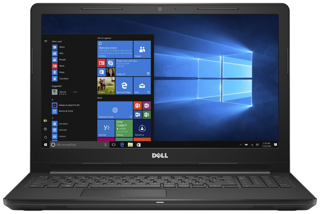 Dell Inspiron 3576 Windows (Core i5 - 8th Gen / 8 GB RAM / 1 TB HDD / 39.62 cm (15.6 inch) FHD / Windows 10 Home) A566126WIN9 (Black , 2.4 Kg)