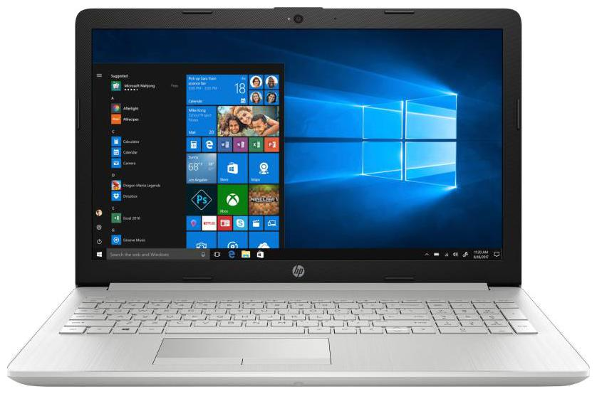 HP 15 (Core i3 - 7th Gen / 4 GB RAM / 1 TB HDD / 39.62 cm (15.6 Inch FHD) / Windows 10)15-da0326tu (Natural Silver , 2.1 Kg)