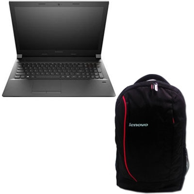 Lenovo B40-80 (80F60050IH) (Pentium Dual Core (4th Gen)/4 GB DDR3/500 GB/14/DOS) (Black) With Free 38.1 Cm (15) Laptop Backpack