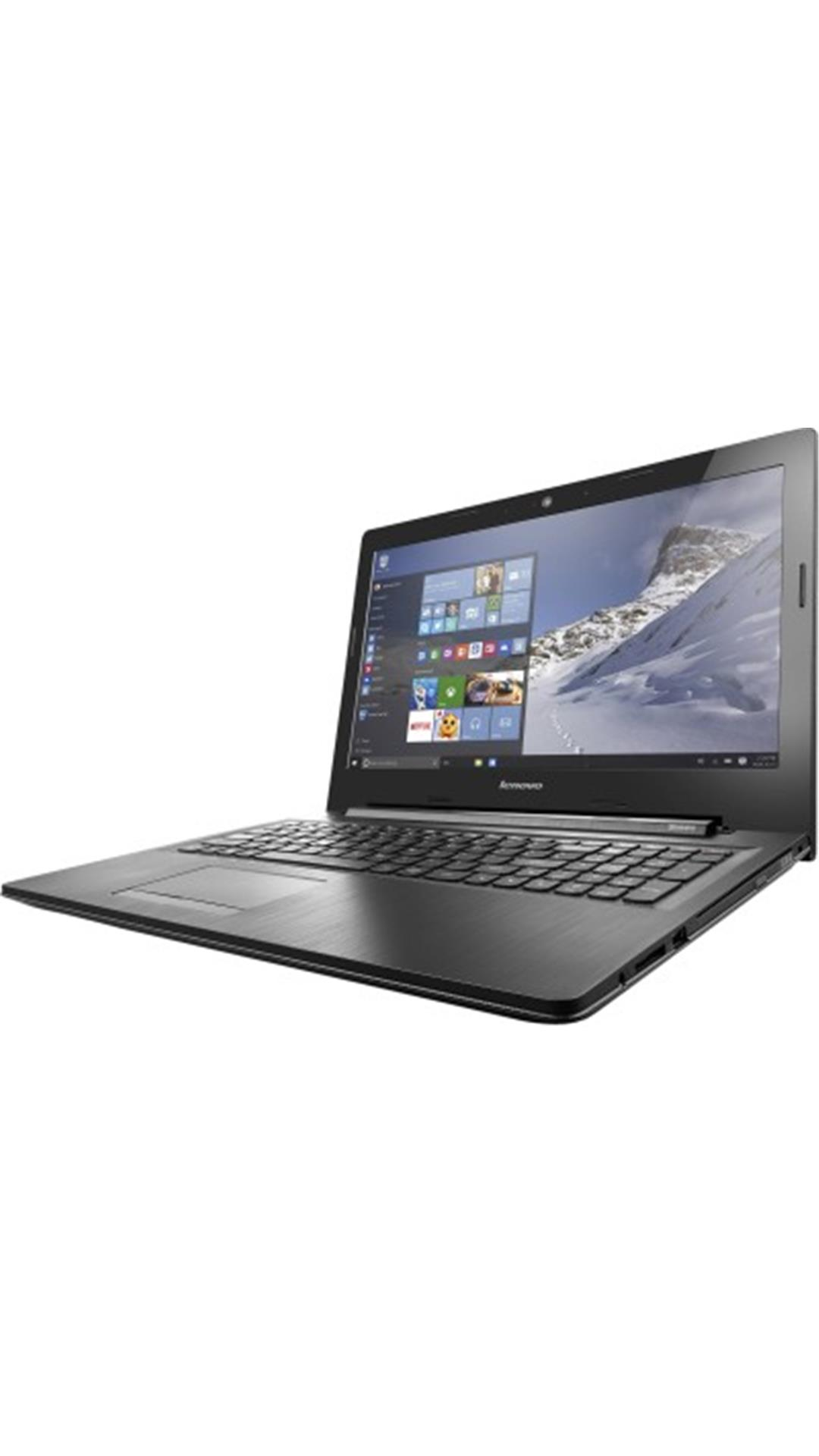 Lenovo G50-80 (80E502ULIN) (Core i3 (5th Gen)/4 GB/1TB/39.62 cm (15.6)/Windows 10/2 GB Graphics)  Laptop (Black)