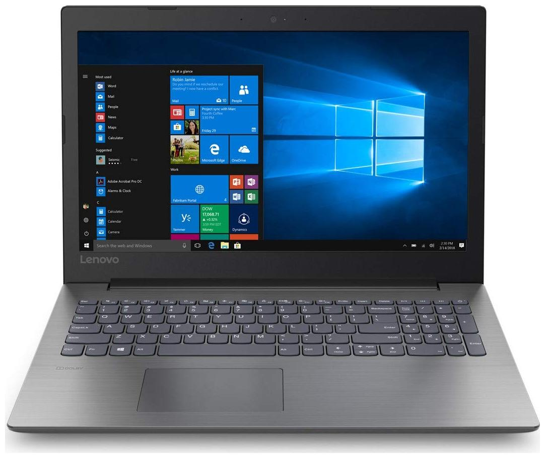 Lenovo Ideapad 330 (AMD A4 - 7th Gen/4 GB/1 TB/15.6 Inch/Windows 10) 81D600CHIN (Onyx Black, 2.2 Kg)