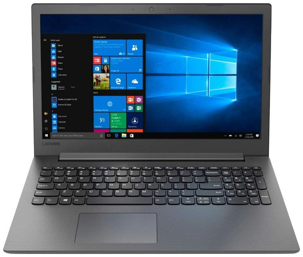 Lenovo Ideapad 130 (Core i3 7th Gen/4 GB/1 TB/39.62 cm (15.6 inch)/Windows 10) 81H7001WIN (Black, 2.2 Kg)
