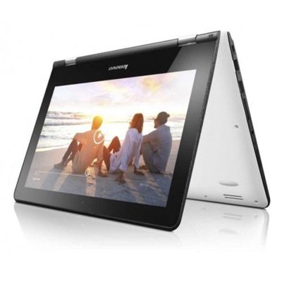 Lenovo Yoga 300 (80M0003WIN) Laptop (Intel Pentium Quad Core/4 GB DDR3/500 GB/29.46 cm (11.6)/Windows 8.1) (White)