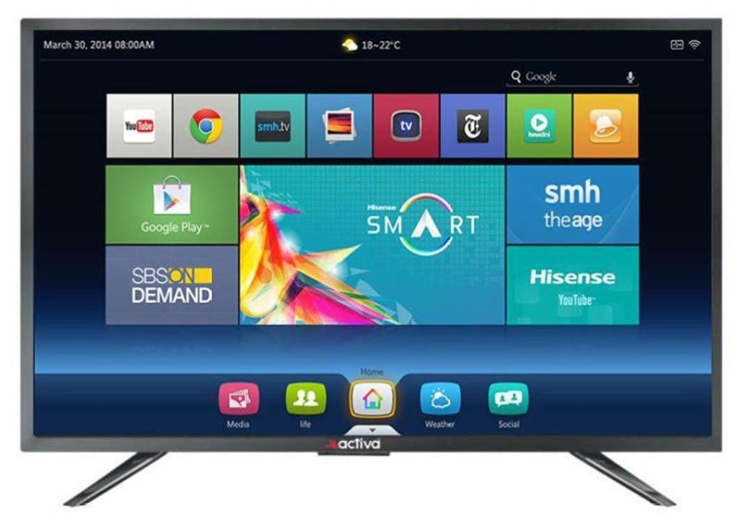 Activa 80 cm (32 inch) ACT-32 Full HD Smart LED TV
