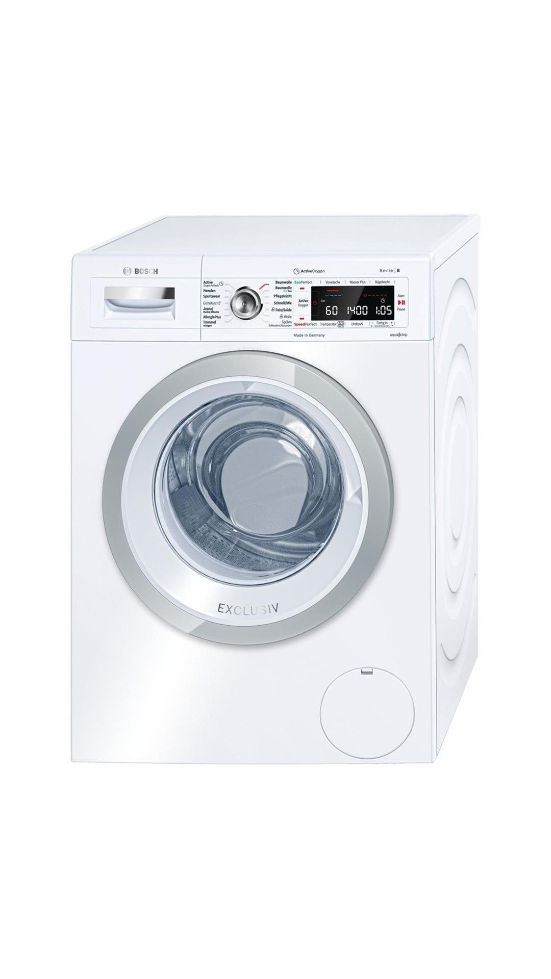 BOSCH WAW28790A 9KG Fully Automatic Front Load Washing Machine