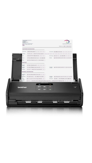 Brother-ADS-1100W-Flat-Bed-Scanner