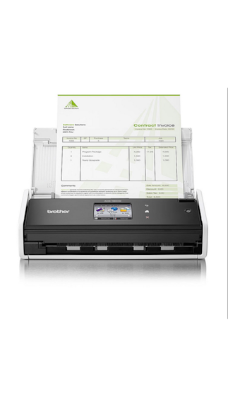 Brother ADS-1600W Flat Bed Scanner