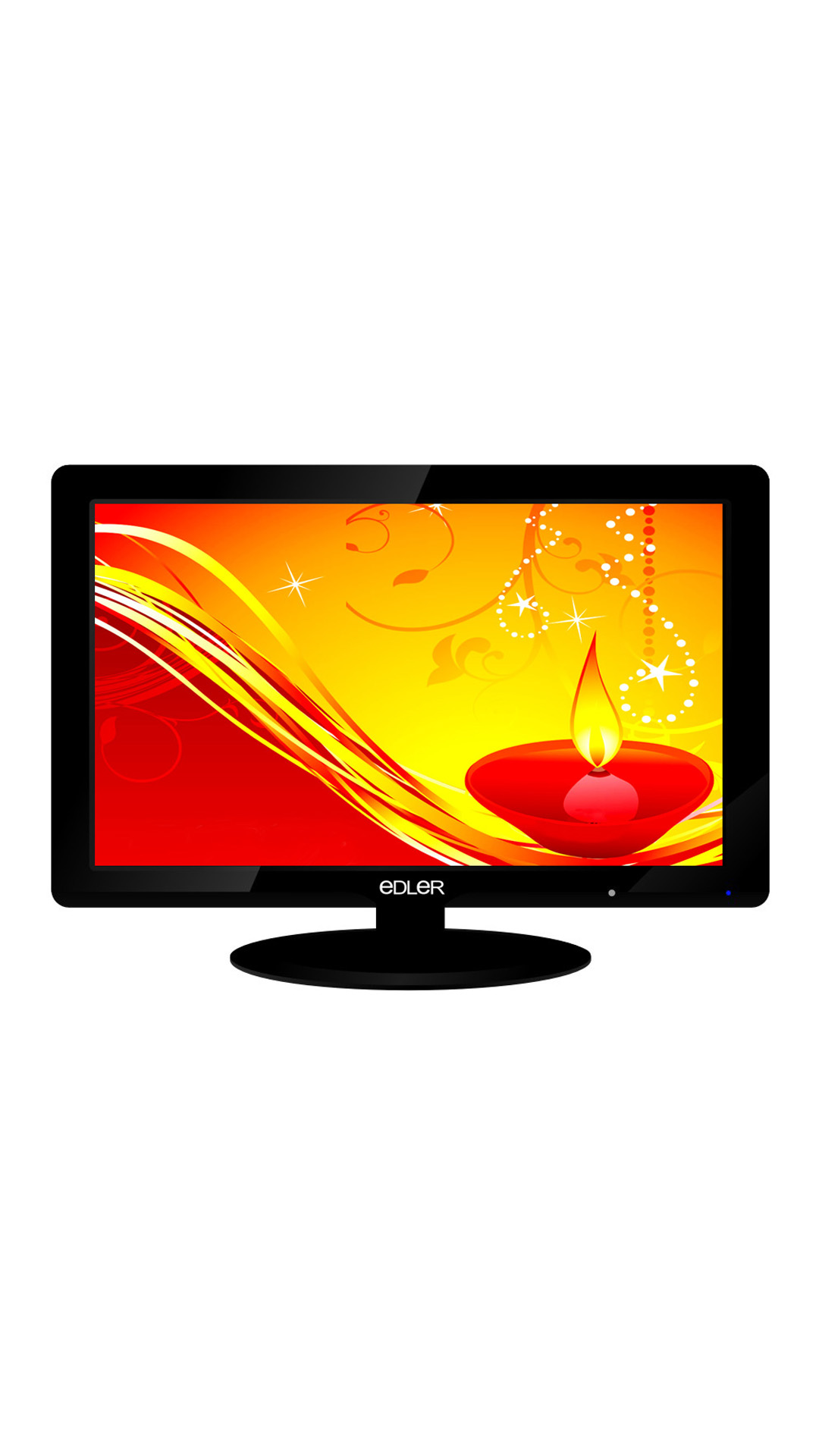 Edler 19HD-VM14 19 Inch HD Ready LED TV