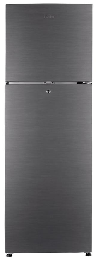 Haier Frost Free 258 L Double Door Refrigerator (HRF-2783BS-E, Brushline Silver)