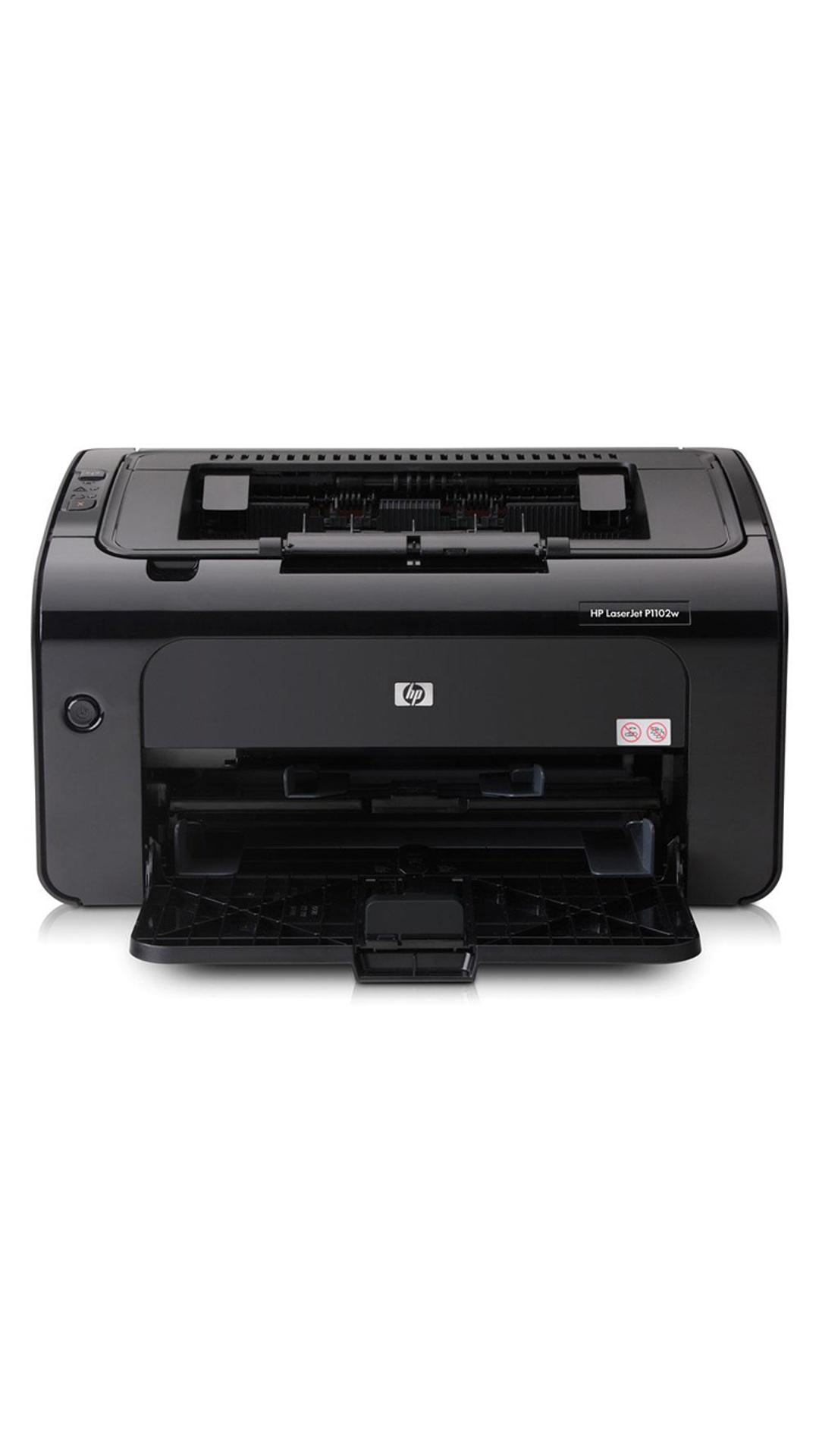 HP LaserJet Pro P1102w Single-Function Laser Printer (Black)