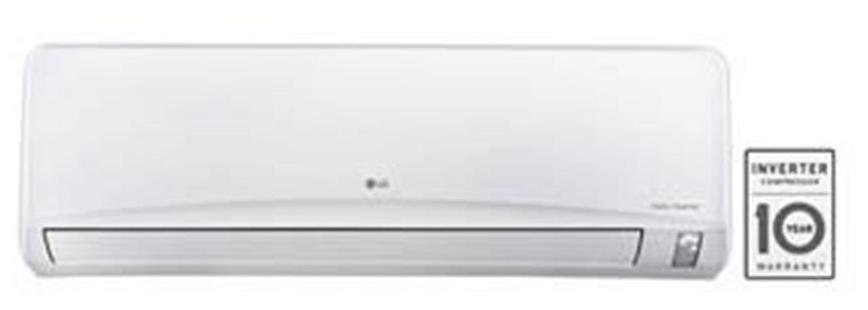 LG 1.5 Ton 3 Star Inverter Split AC (JS-Q18NUXA2, White)