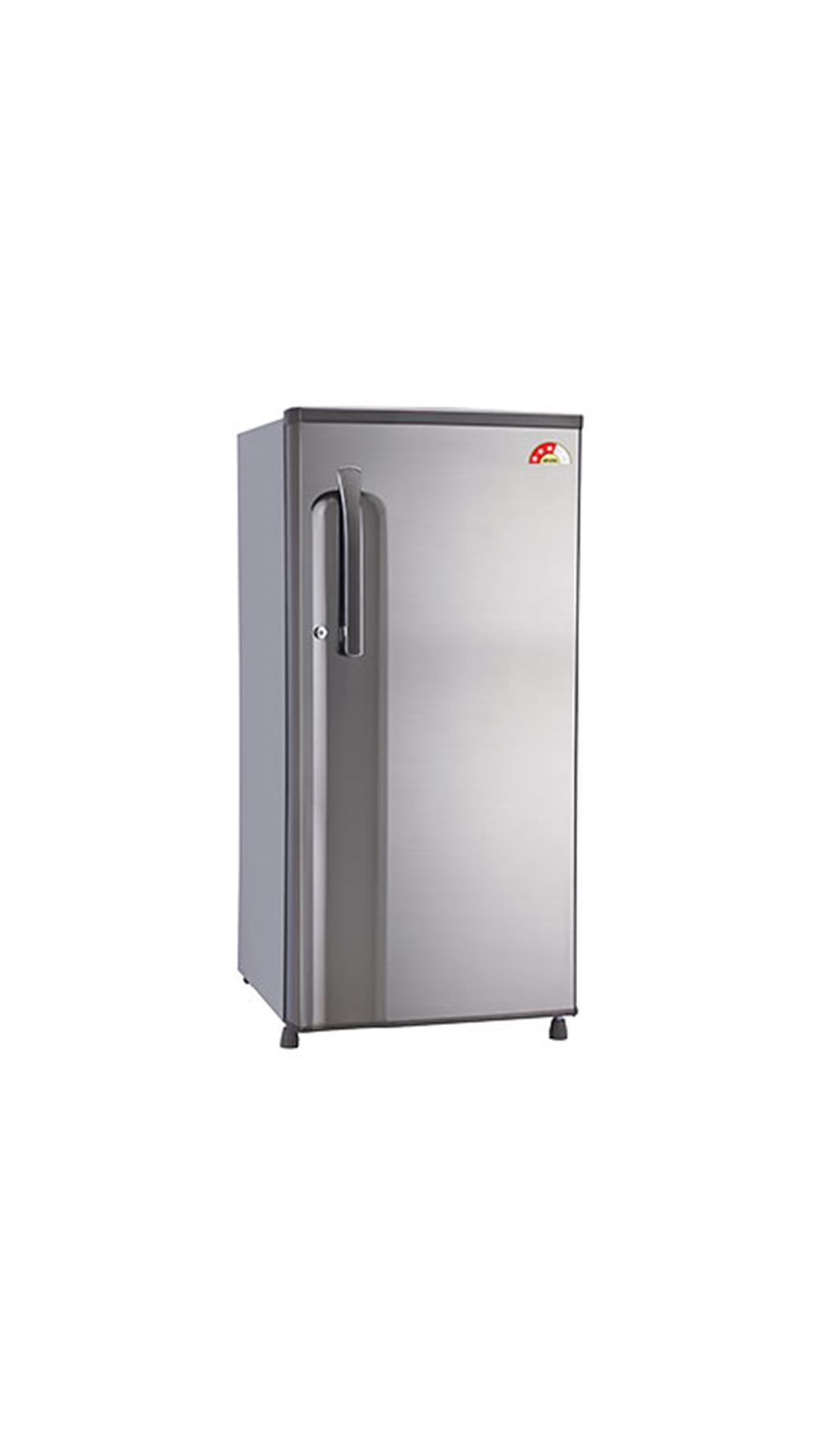 LG 188 L Single Door Refrigerator Shiny Steel (GL-B191KPZQ)