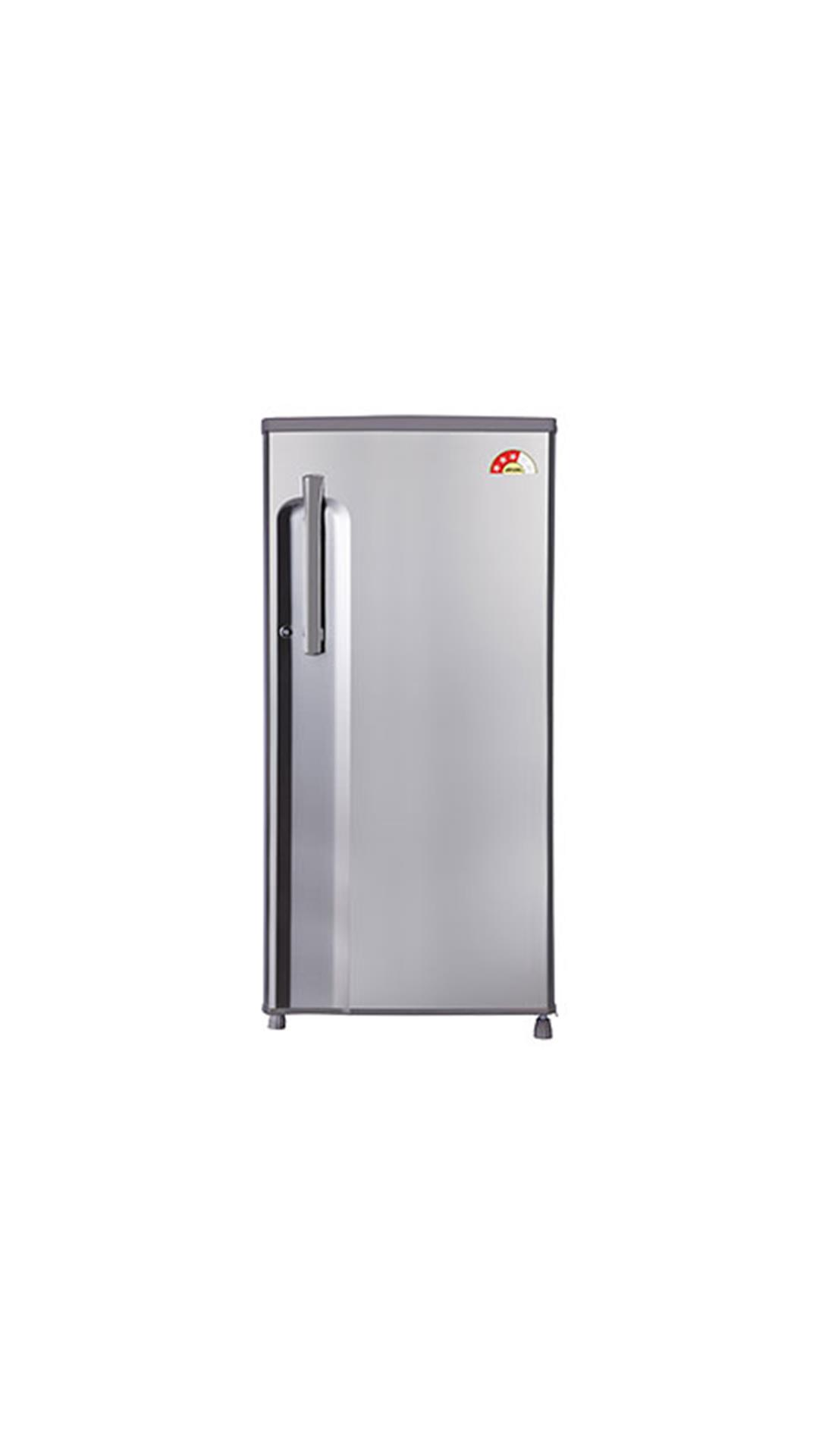LG 188 L Single Door Refrigerator Shiny Steel (GL-B191KPZQ)