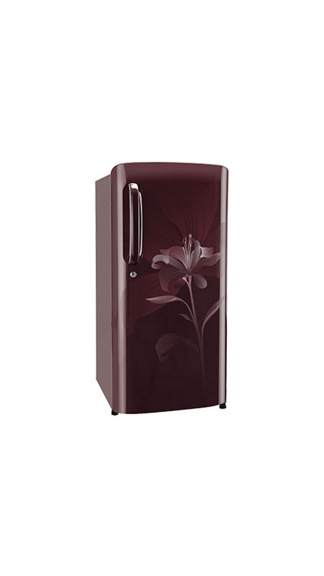 LG GL-B201ASLN 190 L Single Door Refrigerator (Scarlet Liley)