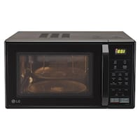LG 21 L Convection Microwave Oven (MC2146BV, Black)