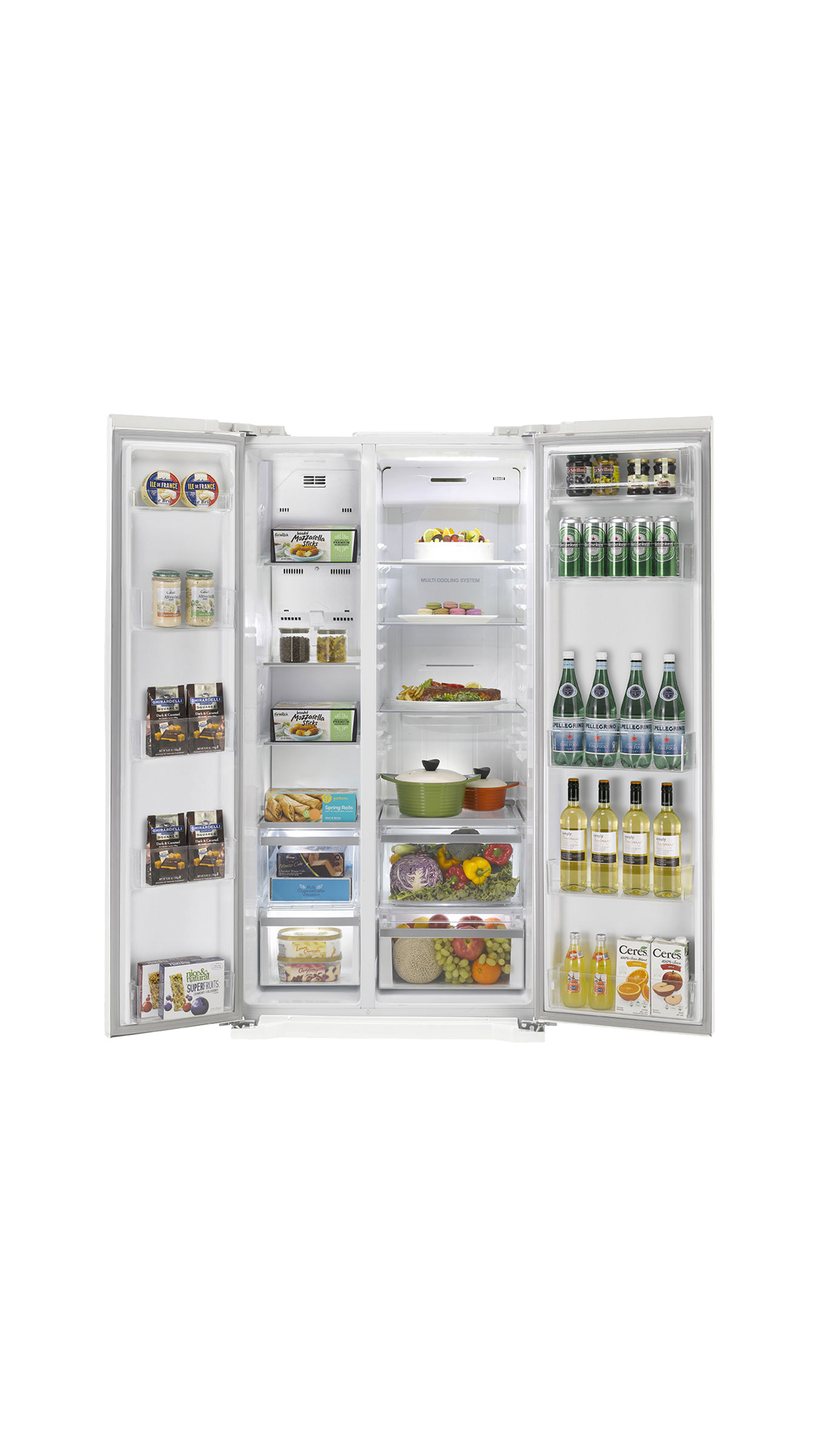 LG GC-B207GPQV 581 L Side By Side Refrigerator