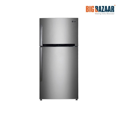 LG 606 L Double Door Refrigerator - GR-M772HLHM