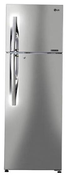 LG Door Cooling 284 L Double Door Refrigerator (GL-C302RPZN, Shiny Steel)
