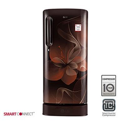 LG 190L Single Door Refrigerator GL-D201AHDX