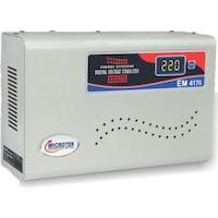 Microtek EM4170 Voltage Stabilizer Non-Digital (White)