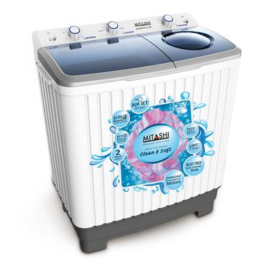 Mitashi 7 Kg Semi automatic Top Loading Washing Machine -...