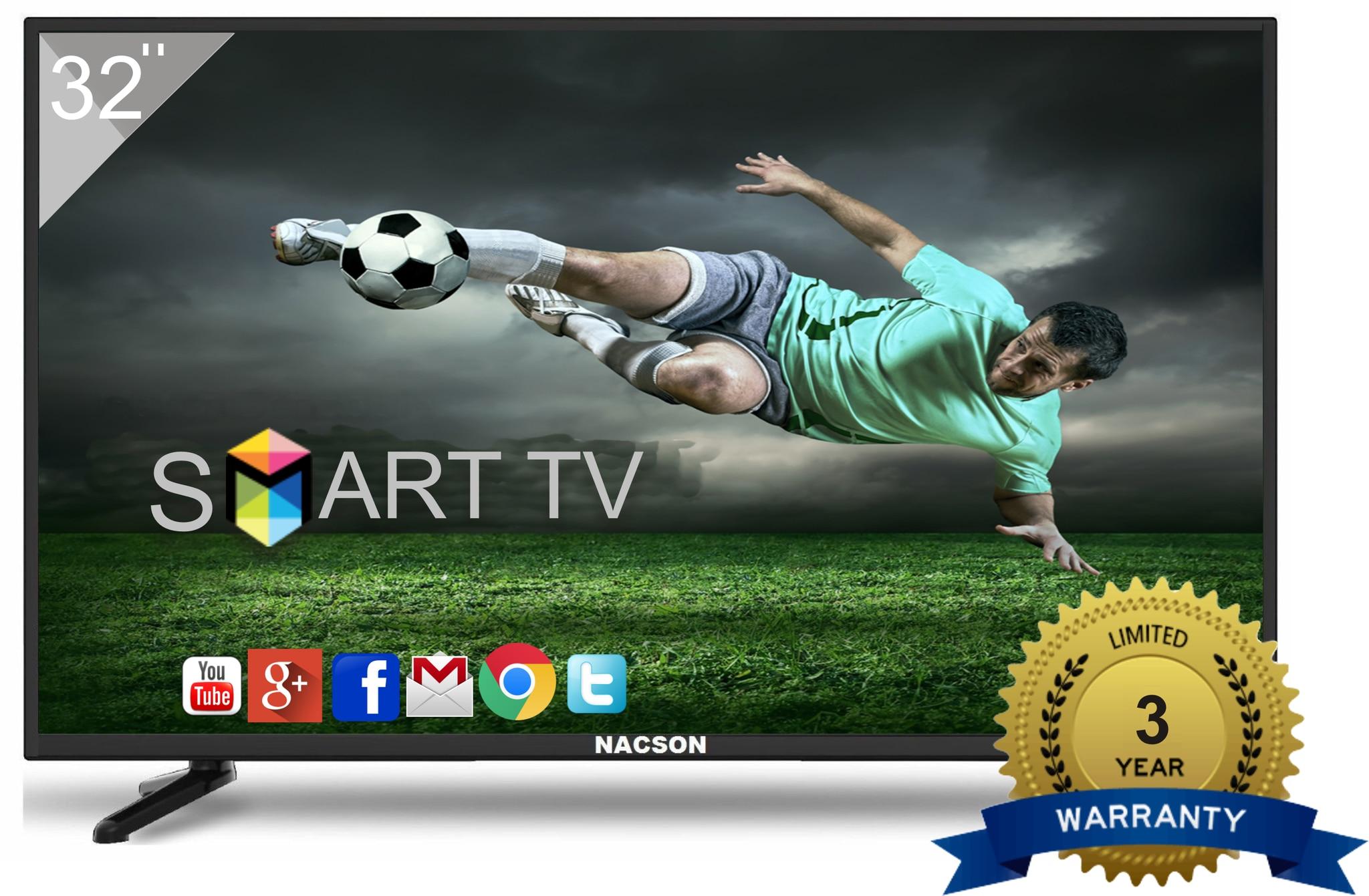 Nacson 80 cm (32 inch) NS8016 SMART HD Ready Smart LED TV