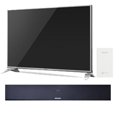 Panasonic 109.22 cm (43) Full HD Smart LED TV TH-43DS630D With Free Philips Sound Bar -375U + Sony Power Bank 5000 mAh