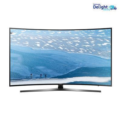 Samsung 123cm (49) 4K (Ultra HD) Smart Curved LED TV UA49KU6570ULXL