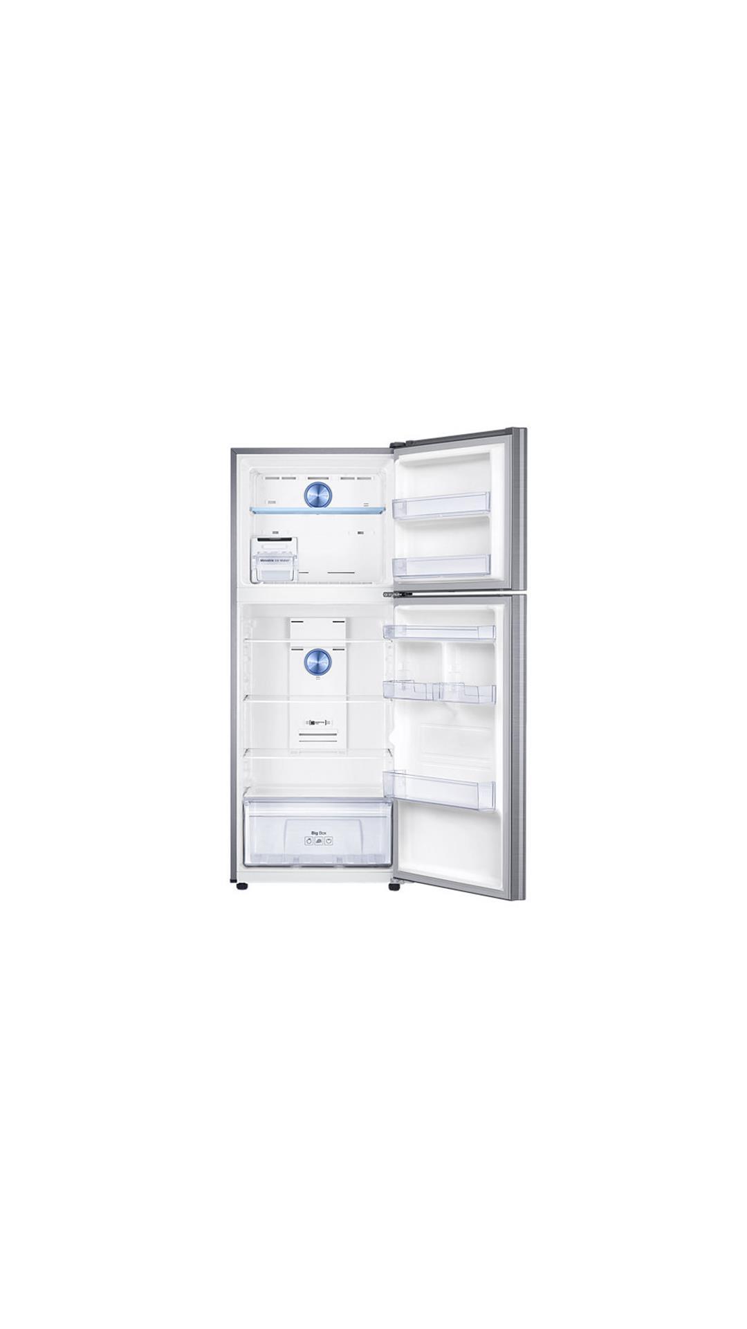 Samsung 394 L Double Door Refrigerator (Elegant Inox) - RT39K5518S8