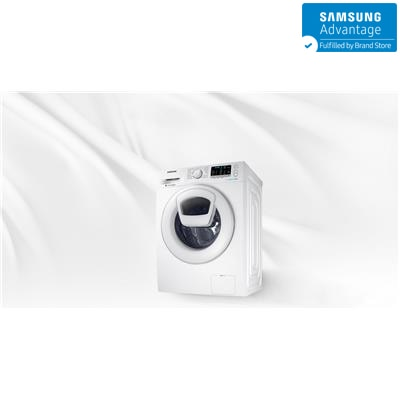 Samsung 8 kg Fully Automatic Front Loading Washing Machine ww80k5210ww