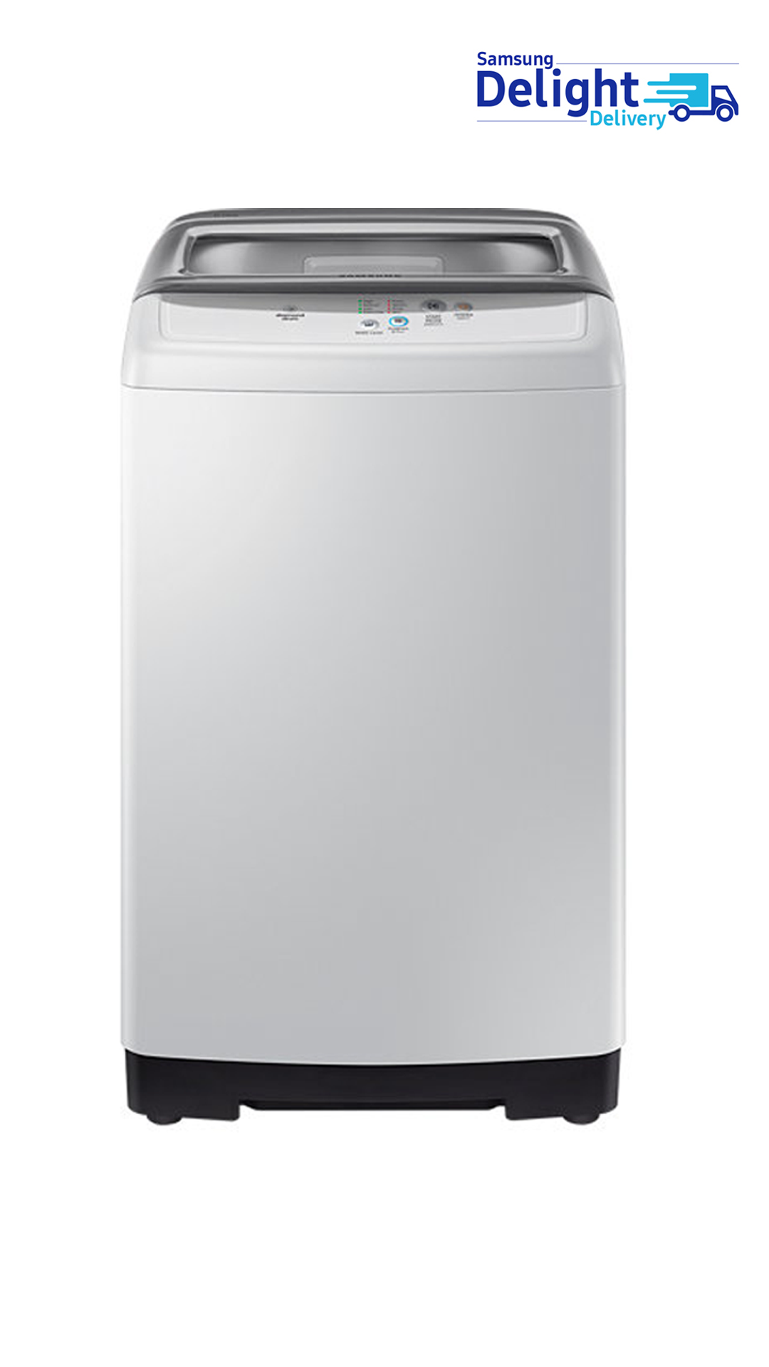 Samsung 6 kg Fully Automatic Top Loading Washing Machine (Light Grey) - WA60H4100HY