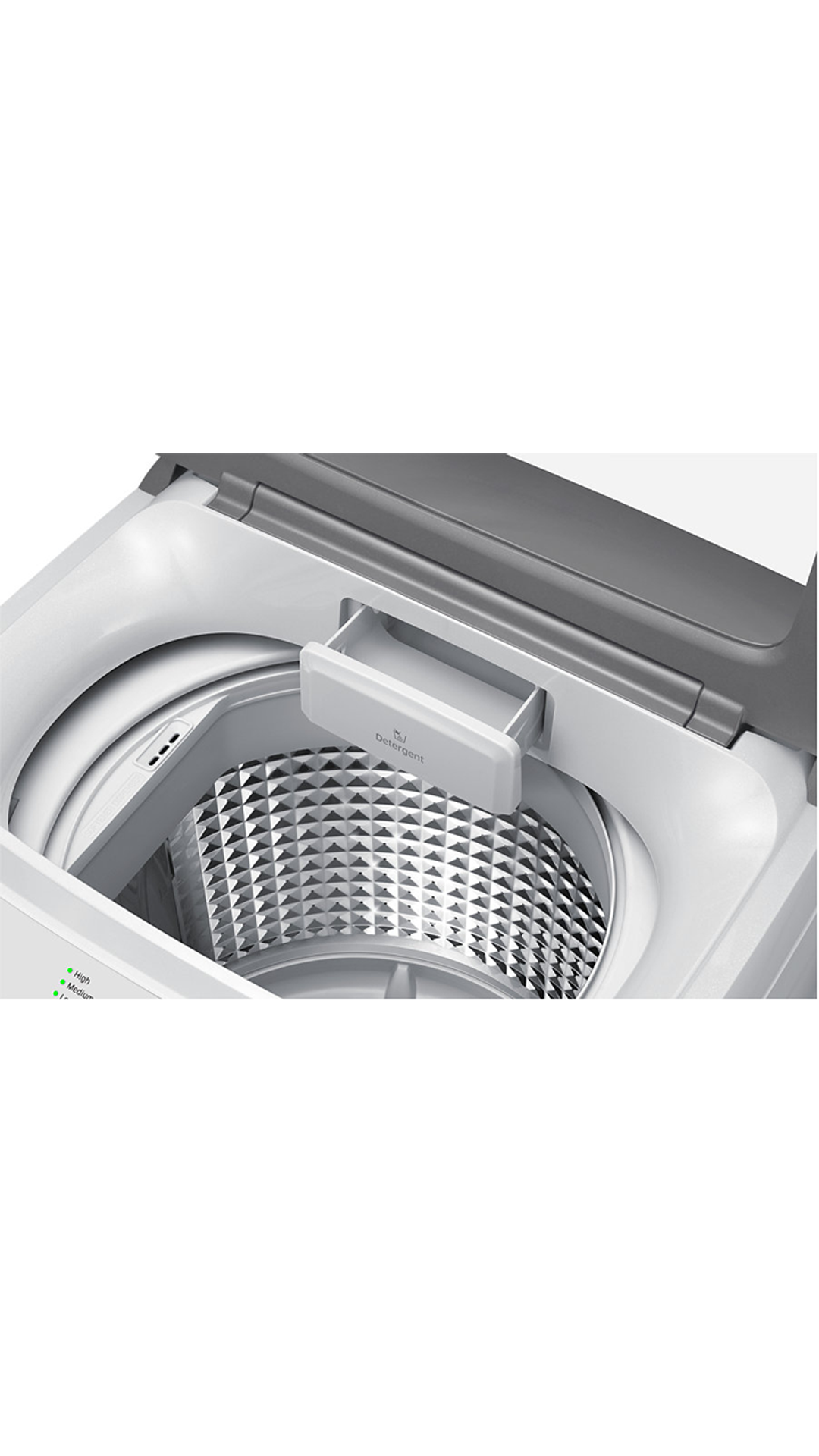 Samsung WA60H4100HY Fully Automatic Top Loading 6 Kg Washing Machine (Light Grey)