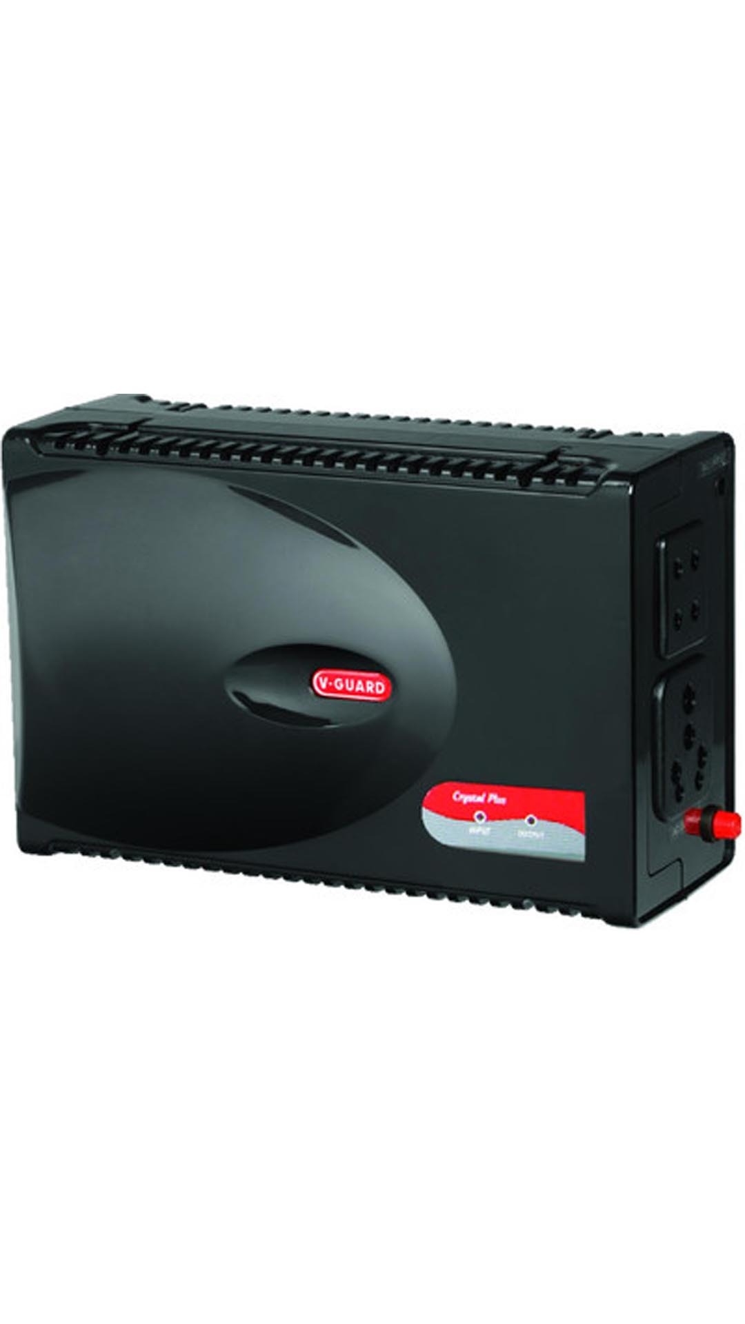 v-guard crystal plus voltage stabilizer (black)