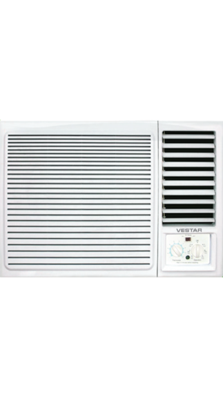 Vestar-VAWN18207DT-1.5-Ton-2-Star-Window-Air-Conditioner