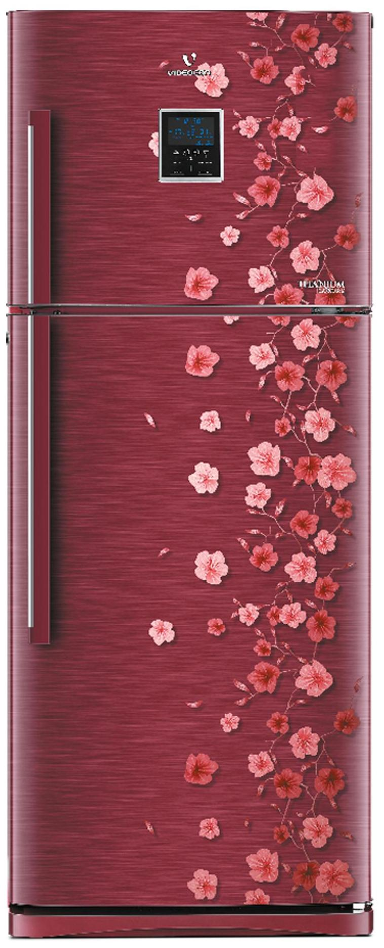 Videocon Frost Free 280 L Double Door Refrigerator (VZ293PECVB-HFK, Scarlet Vine)