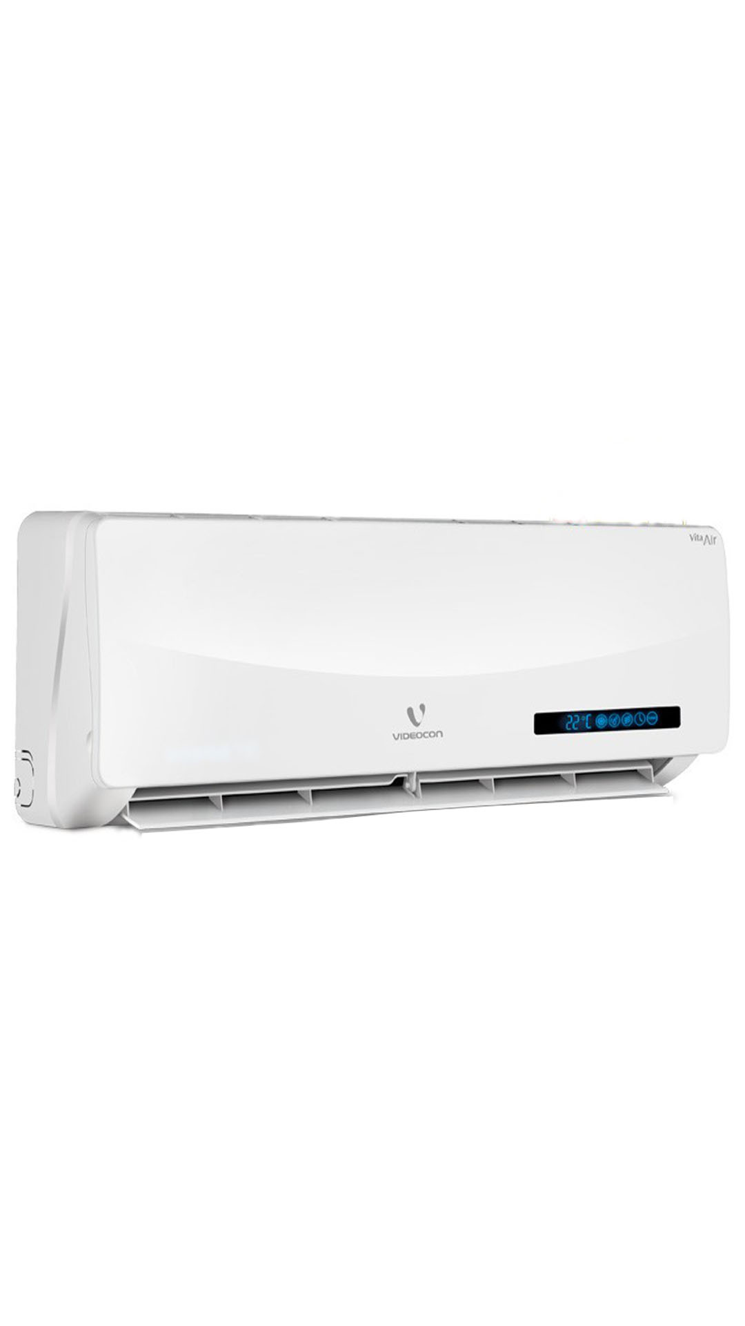 Videocon VSZ53.WV1-MDA Split AC (1.5 Ton, 3 Star Rating, White)